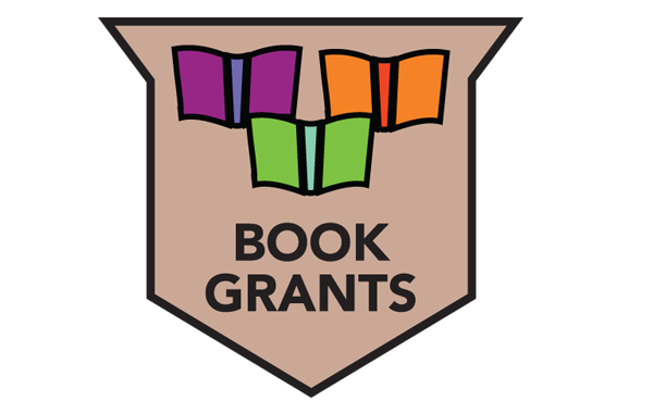 Book Grants program badge